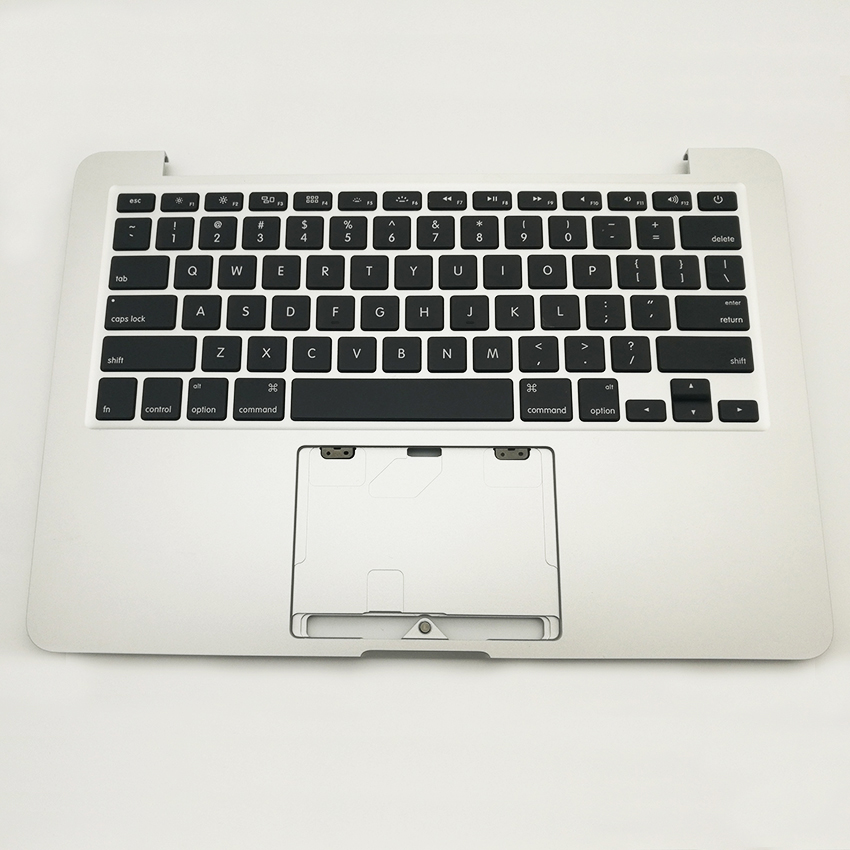 Brand New Top Case With US Keyboard For MacBook Pro Retina 13 A1502 Topcase 2013 2014 Years for macbook pro retina 13 a1502 topcase with keyboard upper top case palmrest us layout late 2013 mid 2014 661 8154