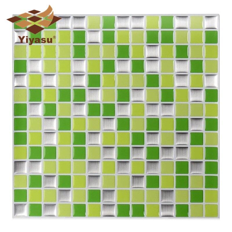 Us 359 40 Offsamoprzylepne Mozaiki Płytki ścienne Kalkomania Diy Kuchnia łazienka Winyl Do Wystroju Wnętrz W2 W Naklejki ścienne Od Dom I Ogród Na