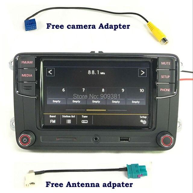6.5 inch MIB Car Radio RCD330 PLUS RCD510 USB SD Bluetooth MirrorLink For VW Passat B6 B7 CC Tiguan Polo Golf 5 6 Jetta Touran