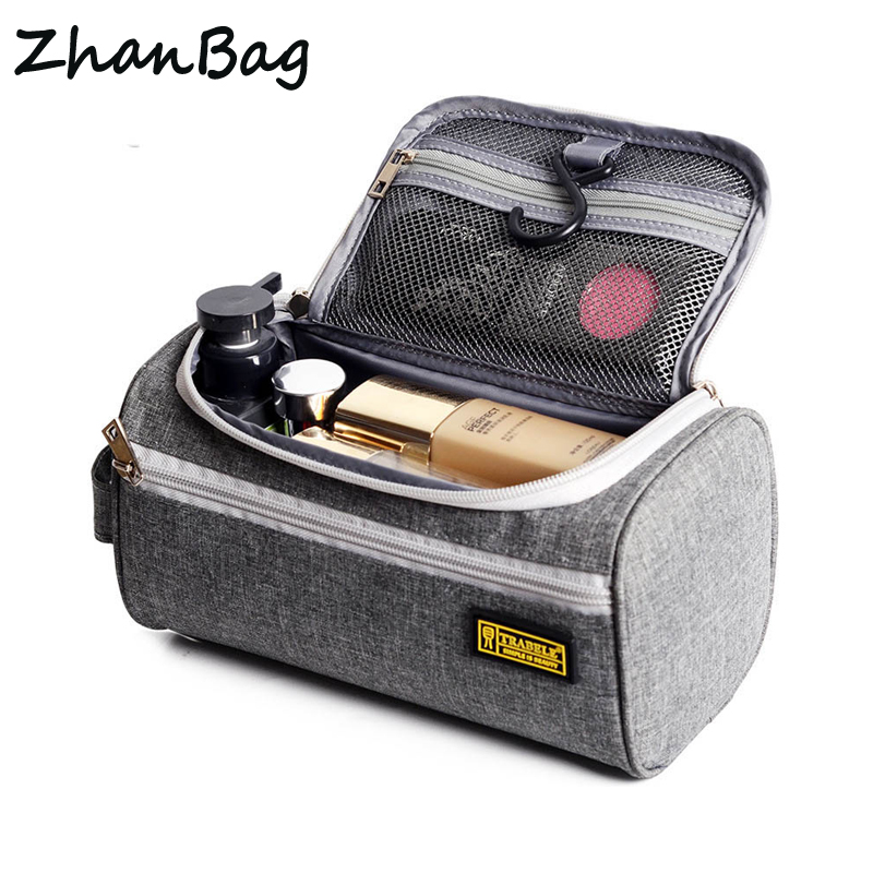 High quality travel organizer Waterproof mens toiletry kit Portable hanging cosmetic bag Women makeup case Travel accessories