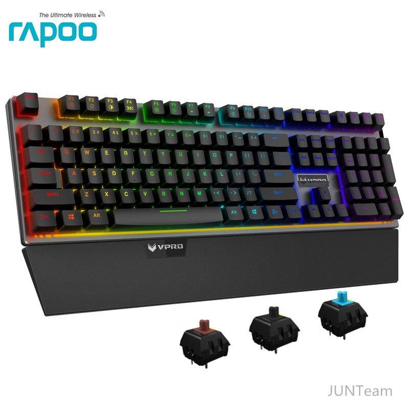 Rapoo V720 RGB Backlight Mechanical Gaming Keyboards