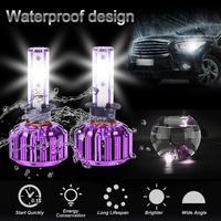 1 Pair LED Car Headlight Bulbs 9 32V 6500K 8000LM B2 H1 COB LED Auto Headlight