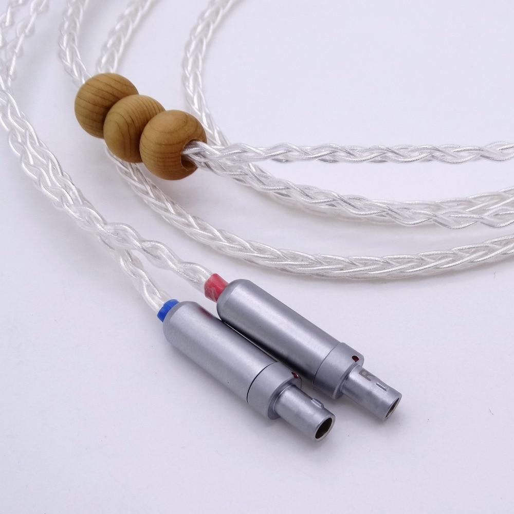 2.5m 1/4 6.35mm DIY Hi-end HIFI Litz zsinór 8 mag 5n Pcoccó - Hordozható audió és videó