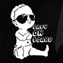 Baby On Board Car Sticker Window Car Styling Exterior Car Styling Lovely Funny Jdm Car Sticker For Window Bumper Cute Decal цена