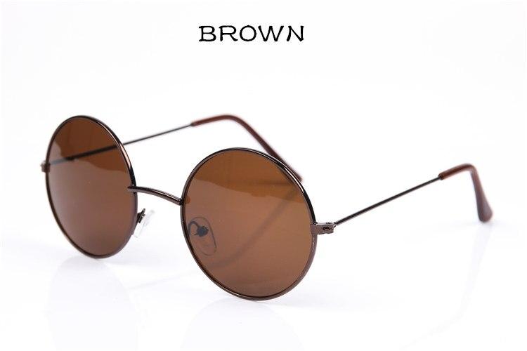 8c3c3b98e5 Fashion Vintage Round Sunglasses For Women Men Brand Designer Mirrored  Glasses Retro Female Male Sun Glasses Men s Women s Pixel G032