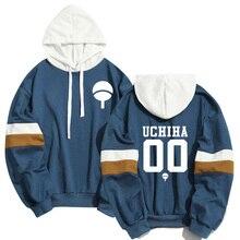 ฤดูใบไม้ผลิฤดูร้อนอะนิเมะ Naruto Hoodies ผู้ชายผู้หญิง Cool Uchiha Hatake Uzumaki Clan Badge Streetwear Sudaderas Hoody Sweatshirt