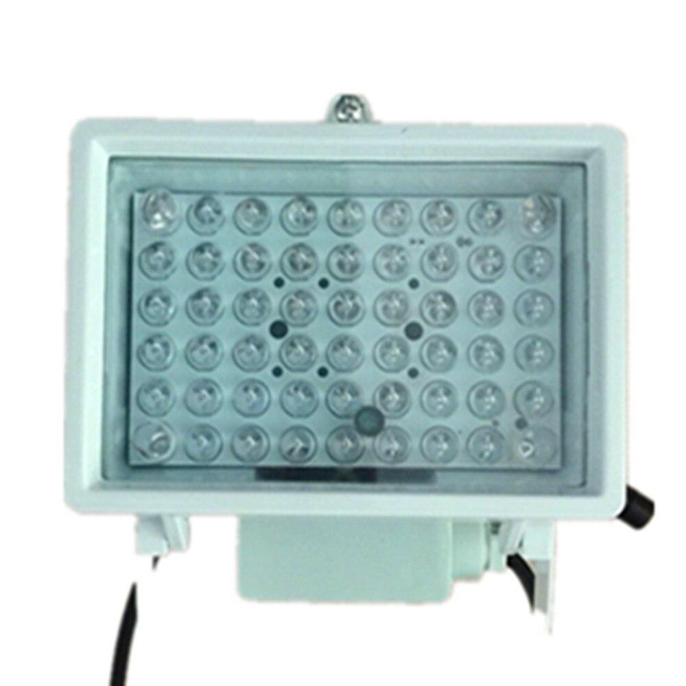 54PCS IR LED illuminator CCTV Fill Light For CCTV Surveillance Camera CCTV Accessory Ir Infrared Night Vision 850nm Wavelength ir infrared led 4 array ir leds lamp illuminator 850nm 42mil cctv lighting for cctv surveillance camera night vision fill light