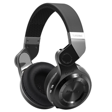 Buy online 2017 Hot Sale Earphone Headphone Bluedio T2 Original Bluetooth Headset Stereo Wireless Headphones With Microphone For Mp3 Mp4