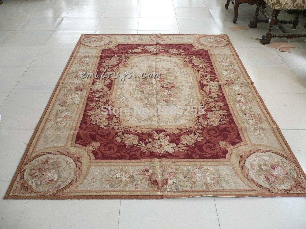 Tapis aiguille de chine classique tricot laine tapis à tricoter