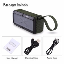 W KING S20 loudspeakers IPX6 wodoodporny głośnik Bluetooth przenośny głośnik NFC Bluetooth na zewnątrz/prysznic/rower Radio FM