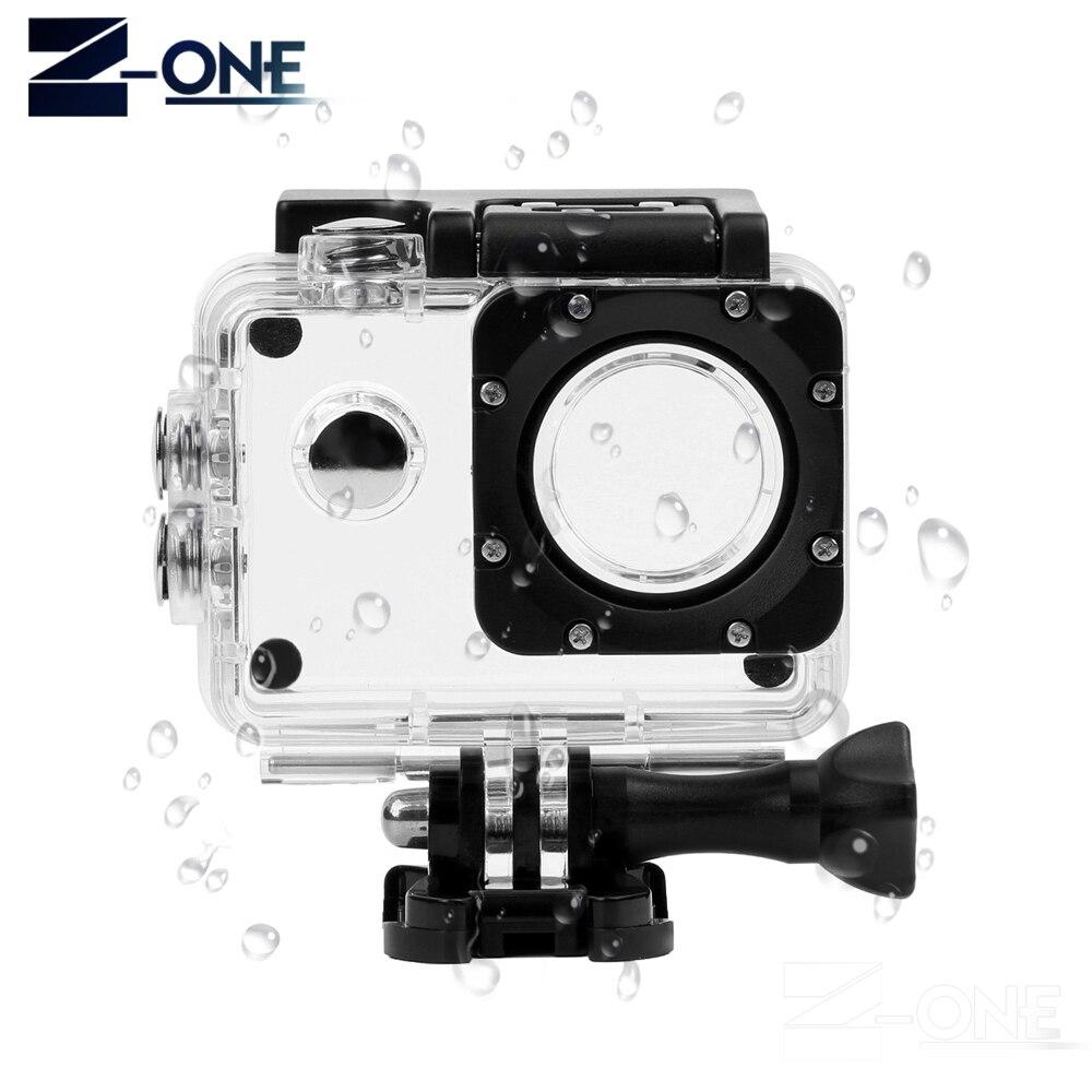 SONOVEL Waterproof Case Underwater Housing Shell for SJCAM SJ4000 SJ 4000 Eken h9 Sports Cam For SJCAM Action Camera Accessories