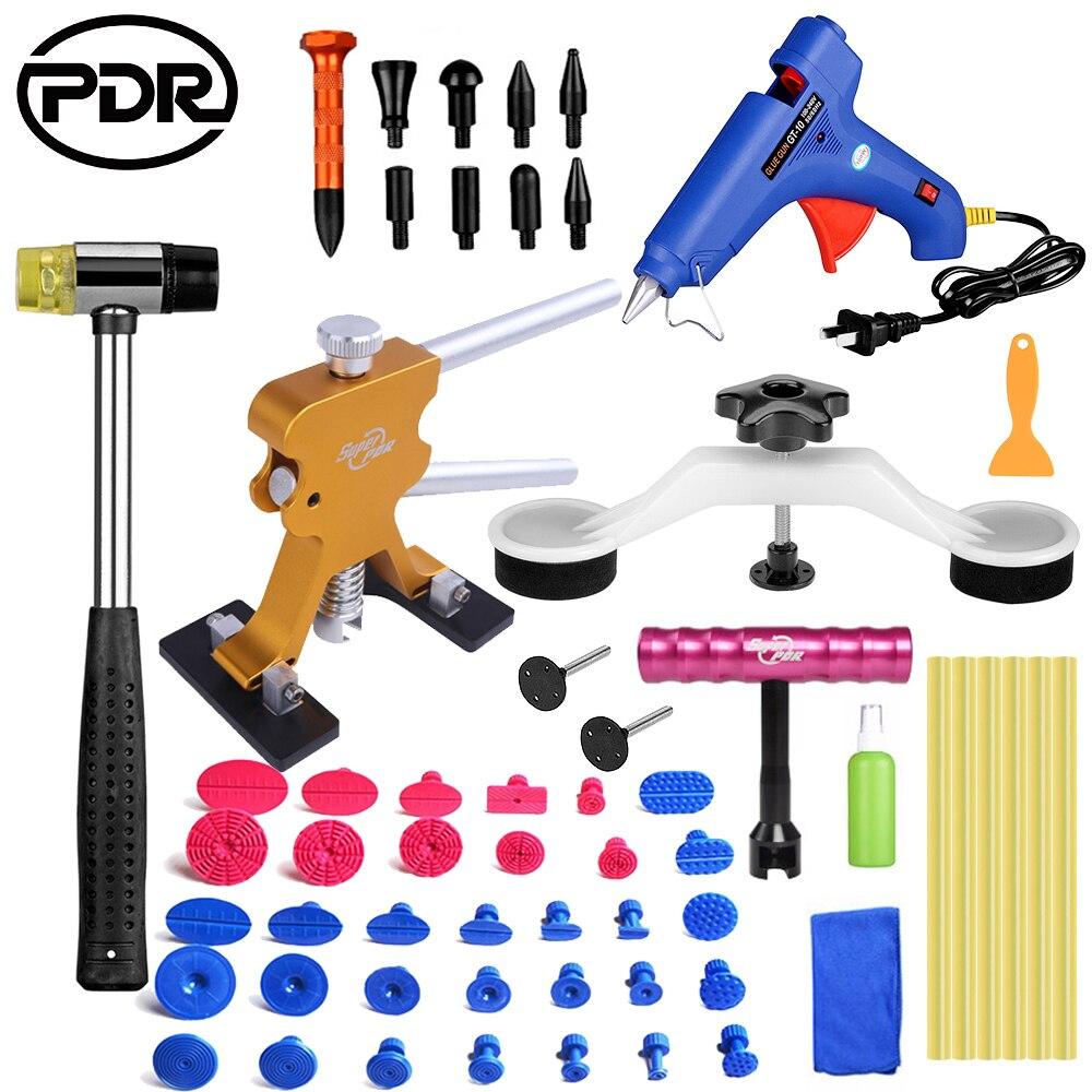 PDR Tools Auto Repair Tools For Car Kit Dent Removal Paintelss Dent Repair Mini Lifter Glue