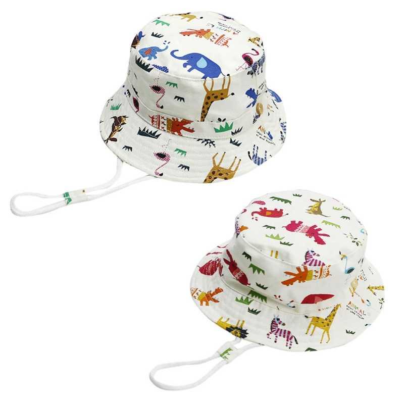 2024ff8bcec Baby Toddler Kids Bucket Hat Baby Toddler Infant Girl Reversible Bucket Sun  Hat UV Protection Children