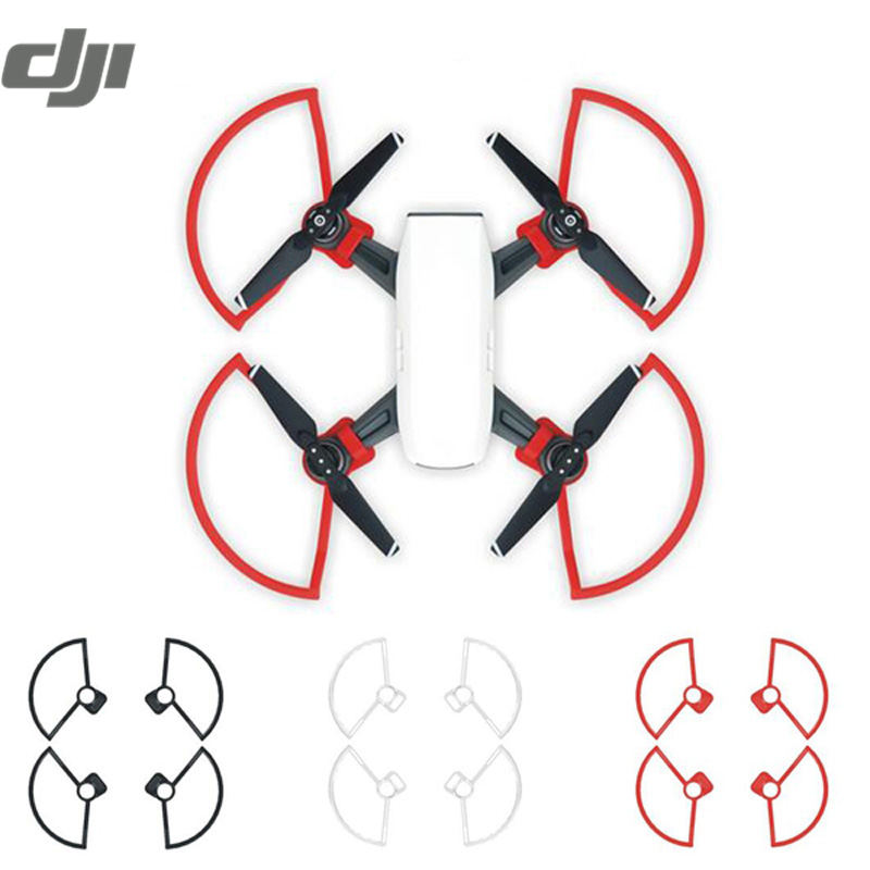 DJI SPARK RC Quadcopter Drone Accessories Propeller Guards Protection Cover Crashproof Circle Black Red White wltoys v272 09 protection cover for v272 v282 v292 mh370 h111 r c quadcopter red