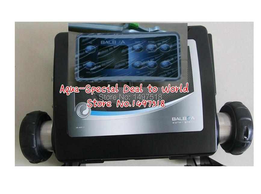 Caixa de Controle de Spa conroller Balboa GS523DZ com painel topside VL801D, adequado para spas com 3 bombas, aquecedor, ventilador, luz, o ozônio
