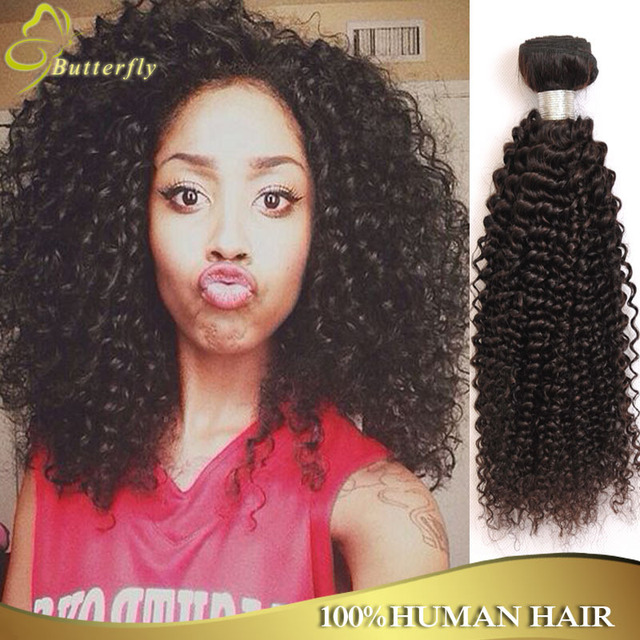 Queen Weave Beauty Brazilian Kinky Curly Virgin Hair Extension Cheap