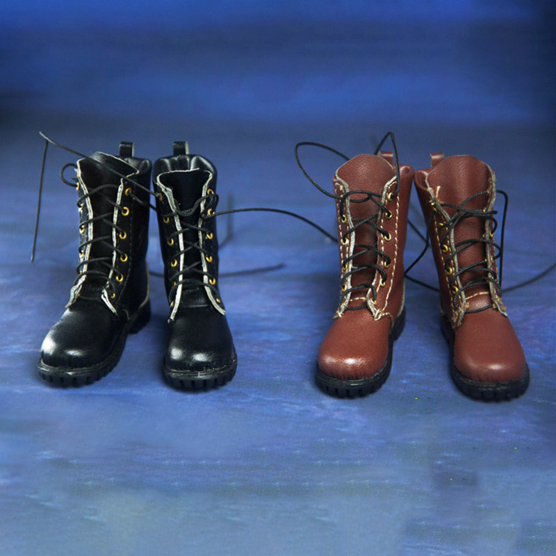 ASTOYS 1//6 Fashion Female Combat Boots Shoes AS027 Model For 12/'/' Phicen Body