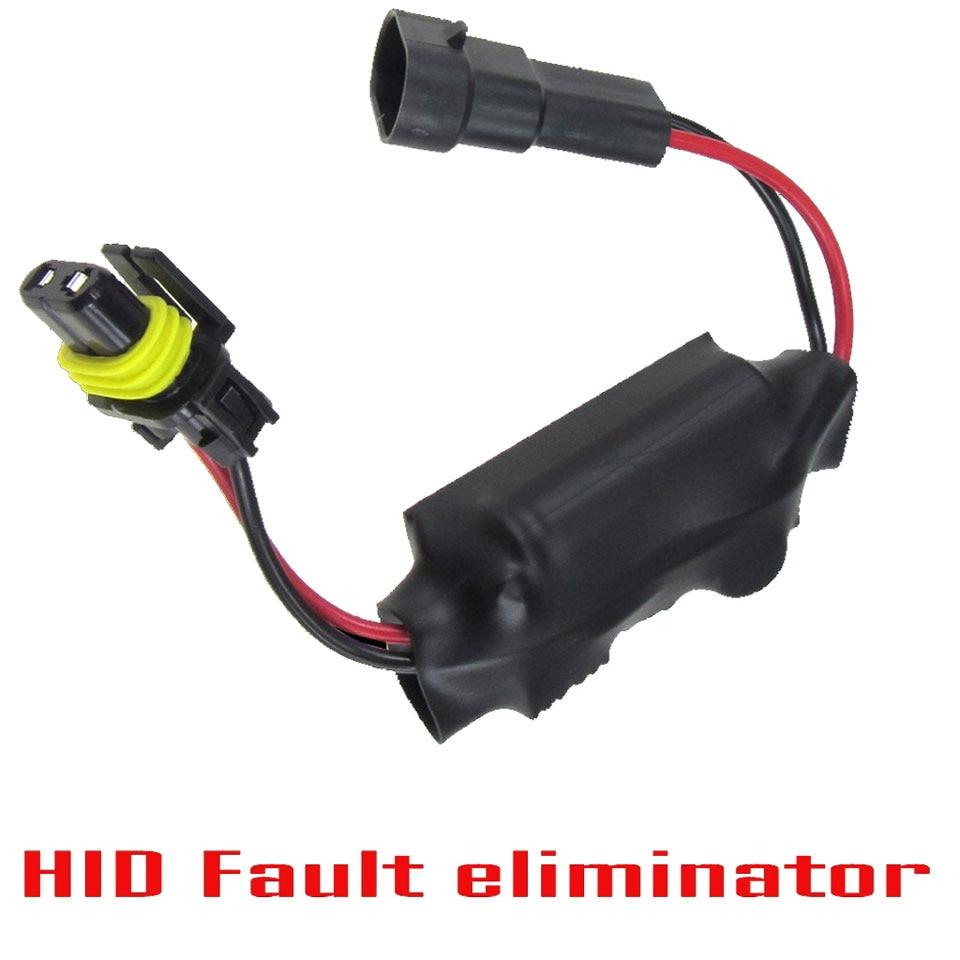 HID Decoder Warning Error Free Warning Code Canceller Capacitor Anti Flicker Eliminator 2 PCS