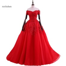 Buy red evening gowns with sequined and get free shipping on ... 44a03328f733