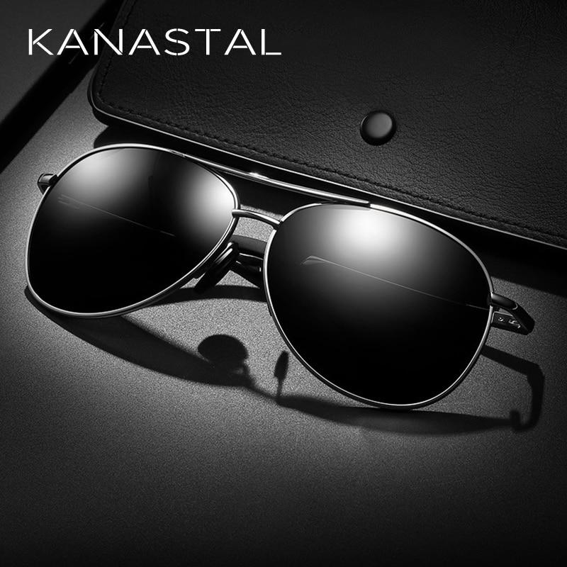 Men/'s Retro HD Polarized Metal Pilot Sunglasses Glasses Driving Fishing Eyewear