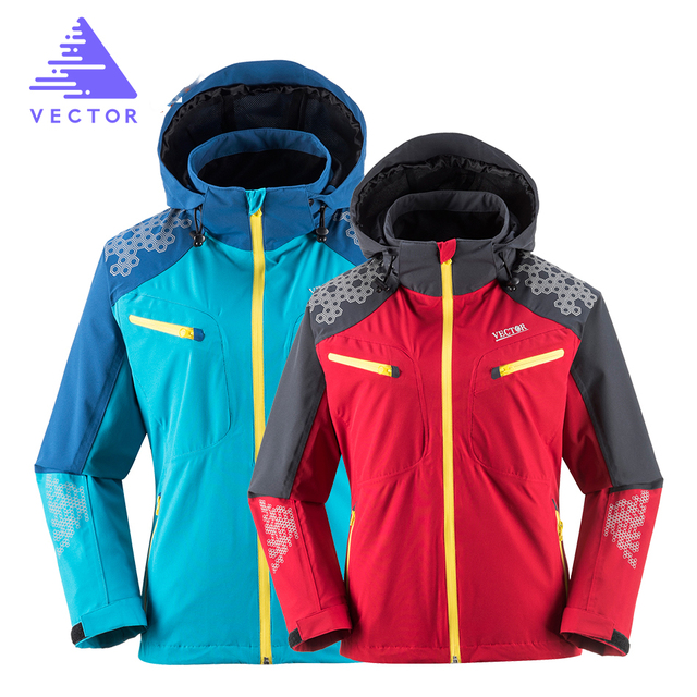 VECTOR Outdoor Jacket Men Women Windproof Waterproof Camping Hiking Jackets Mountain Climbing Trekking Outdoor Windbreaker 60007