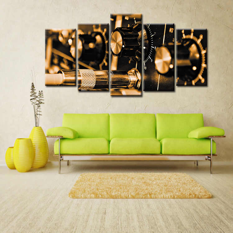 Fashion Frame Wall Decorations 5pcs / Set Modern Movie poster series Canvas Print Artist Canvas Decoration/Abstract (136)