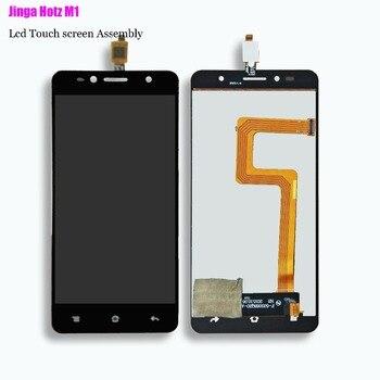 ใหม่ทดสอบต้นฉบับ + กรอบจอแสดงผล LCD และ Touch Screen สำหรับ Jinga Hotz M1 Digitizer Assembly Replacement