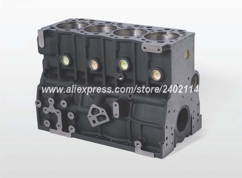 Changchai engine 4L88-A, the engine block for farm machinery use, part number: changchai zn490t for tractor use the set of piston group part number