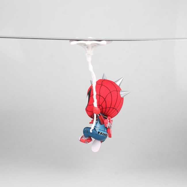 מארוול ספיידרמן נוקמי אינפיניטי מלחמת עכביש סופר גיבור חמוד איור דגם צעצועים לילדים