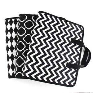 Image 3 - Fashion Expanding File Folder for Documents Case A4 Document Bag Multi Pocket File Organizer Zipper Bag