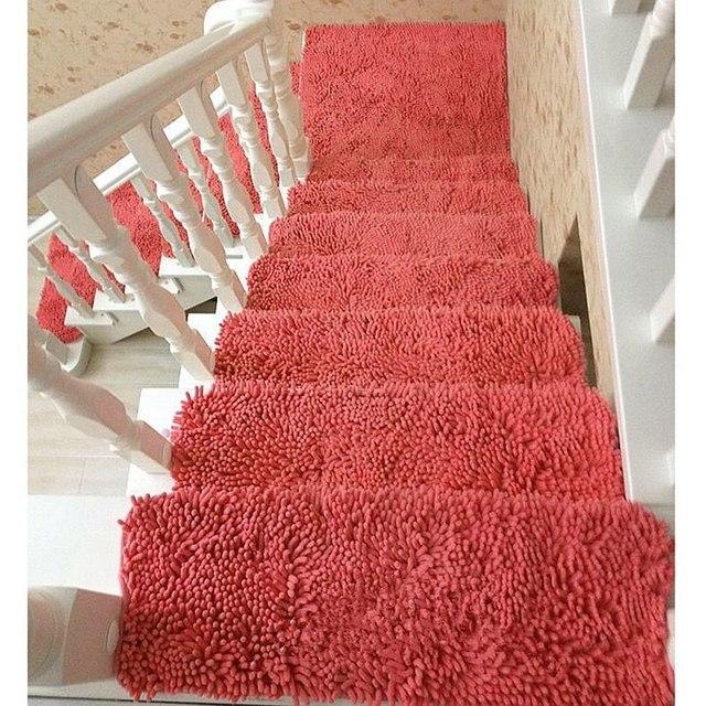 Recém 1 Peça Caso Tapete Do Piso Da Escada Passo Tapete Tapetes Cobertor Do Hotel Escada