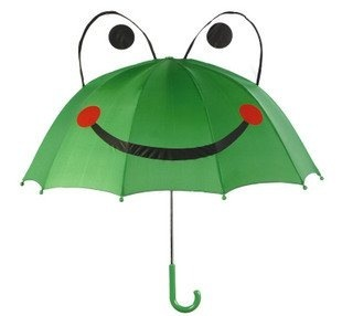 Free shipping frog children umbrella wholesale and retail