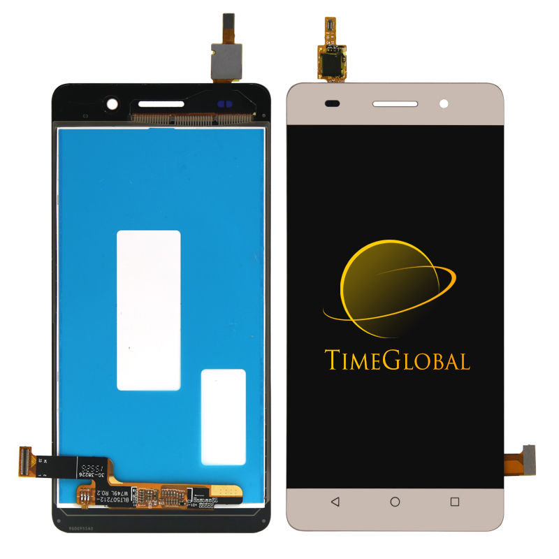 10pcs Free DHL for Huawei Honor 4C LCD Display touch Screen with digitizer without frame assembly black white gold 1 pcs for iphone 4s lcd display touch screen digitizer glass frame white black color free shipping free tools