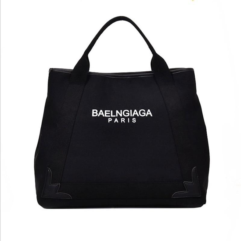 New Handbags Fashion Canvas Large Capacity Literary Ladies Handbags Handbags Designer Handbags High Quality Shoulder Bag