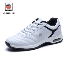 Apple blossom white walking shoes men and women breathable comfortable shoes