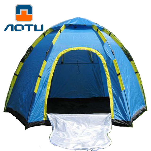3-4 Person Tent Waterproof Automatic Folding Tent Outdoor Hexagonal Rain At8878 C&ing Tent  sc 1 st  AliExpress.com & 3 4 Person Tent Waterproof Automatic Folding Tent Outdoor ...