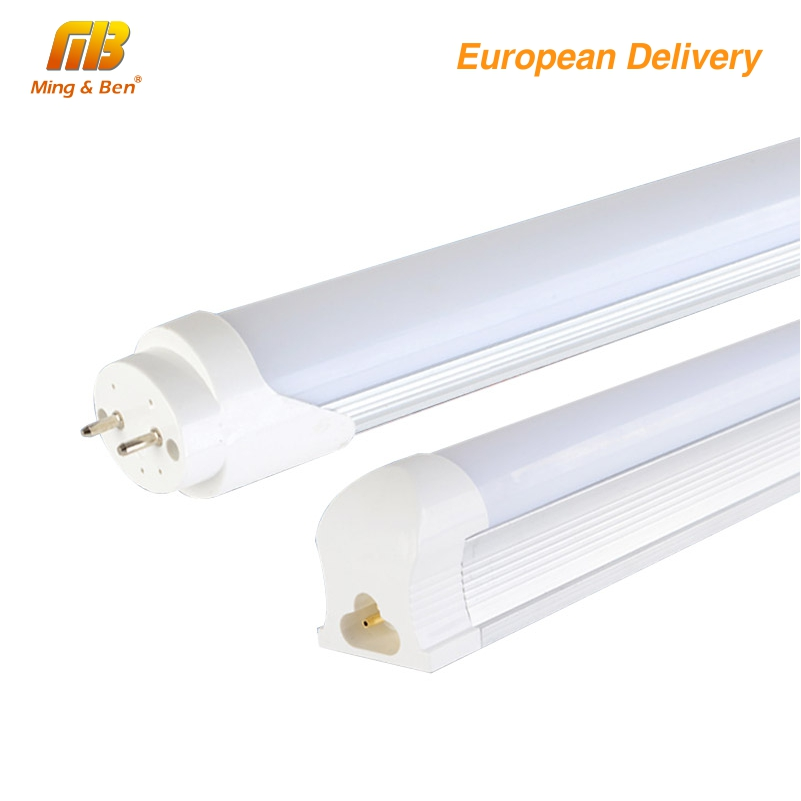 [MingBen] 1pcs LED Tube T5 T8 Tube LED Bulbs 12W 3ft=90cm AC220-240V 50HZ SMD2835 Cool White Warm White Ship from Spain lucky led tube t8 600mm led bulbs tubes 9w ac110v 220v smd2835 pf 0 95 no flicker integrated light wall lamps warm cool white