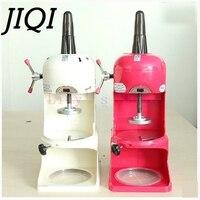 Jiqi Электрический дробилки льда бритвы льда, песка слякоть чайник коммерческих снег конический коктейль машина slushies блок бритвенный станок