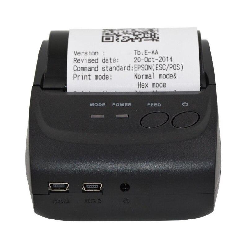 Mini imprimante Portable Bluetooth imprimante thermique de reçu 58mm imprimante de poche téléphone Portable POS imprimante prise en charge IOS Android Windows