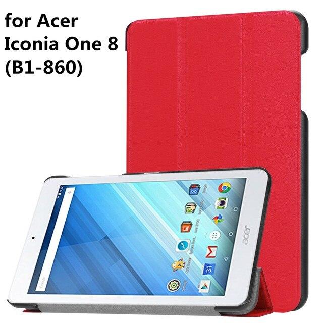 3e102bb6e3362 Caso Da Tampa Do Tablet para Acer Iconia Um 8 (B1 860) 8 Polegada ...