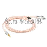 Free shipping 2m 5N OFC pure copper Audio upgrade Cable For HD800 HD 800 headphones Cable