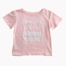 Toddler Infant Baby Girls Boys Pink T-shirt Casual Short Sleeve Tees Cotton Tops Children New Arrival Girl Boy T-Shirt Clothing