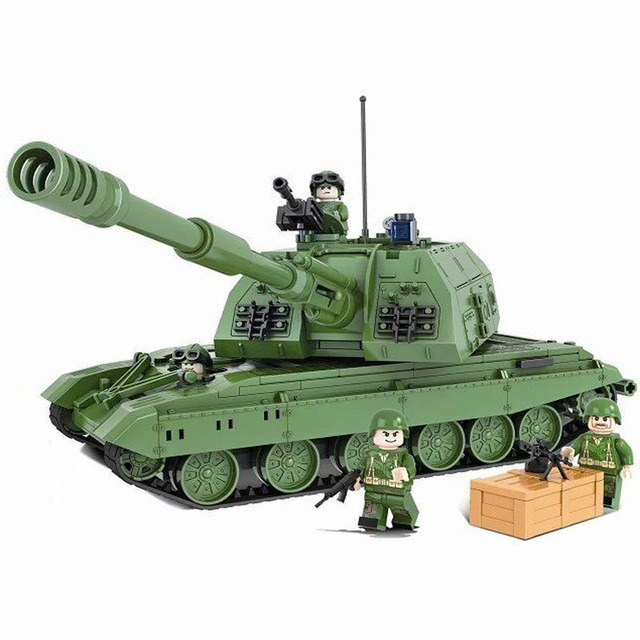 Military Tank Battle Building Set (533 Pieces)