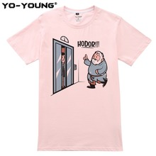 Game Of Thrones Hodor Jon Snow Men T Shirts Funny Design T-shirts For Men Digital Printed 100% 180g Combed Cotton Customized