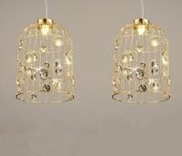 modern wrought iron birdcage pendant light postmodern personality sitting room dining room bar lamp
