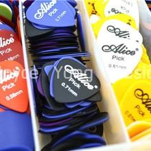 Picks Alice Plectrums Acoustic Thickness--Color 50pcs Assorted Matte of Lots Wholesales