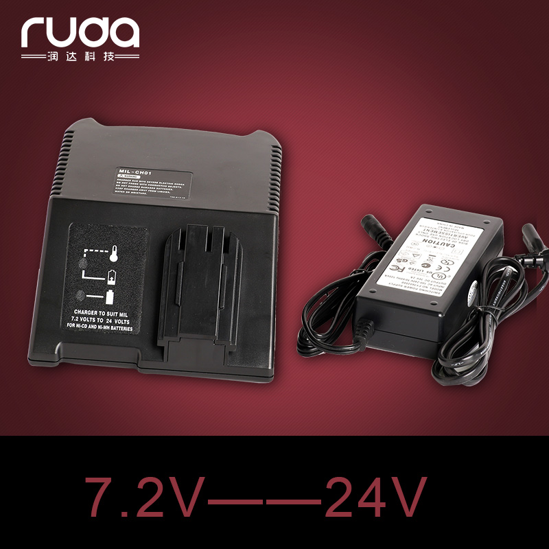 ФОТО Charger for Milwaukee Ni-CD Ni-MH battery charger.7.2V-24V,110V-240V,PBS3000,48-59-0186,48-59-0255