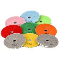 10pcs New 4 Marble Polishing Pads High Quality Mayitr Diamond Polishing Pad For Granite Marble Concrete