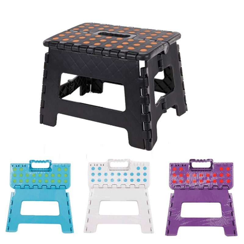 Astounding Us 10 99 30 Off Folding Step Stool Chair Sturdy Plastic One Step Stools Portable Outdoor Picnic Step Stool For Kids Home Furniture 3 In Step Stools Ibusinesslaw Wood Chair Design Ideas Ibusinesslaworg