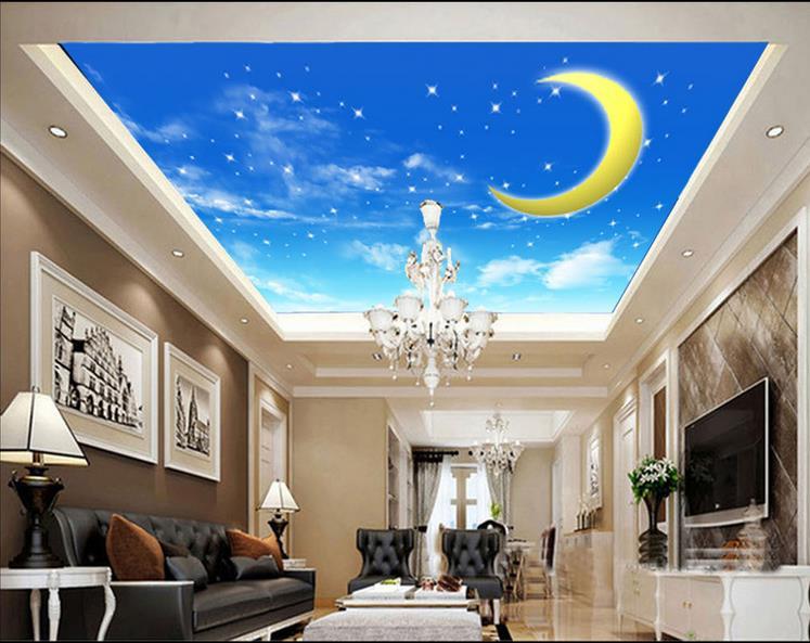 Decke Tapete Sternenhimmel : decke tapete benutzerdefinierte 3d foto decke tapete Der sternenhimmel